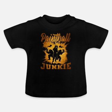 Mask Paintball - T-shirt baby