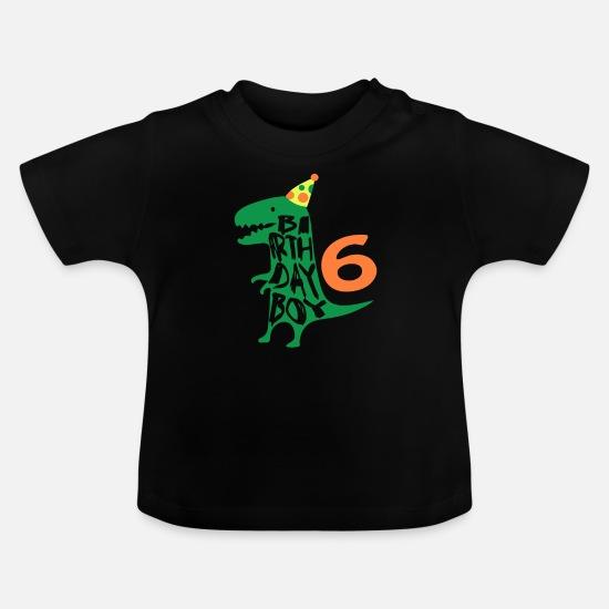 Birthday Boy 6 Years Old Baby T Shirt