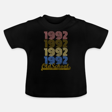 1992 Old School 1992 - T-shirt Bébé