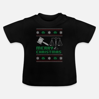 Attorney Funny Lawyer Attorney Shirt Merry Christmas - Baby T-Shirt