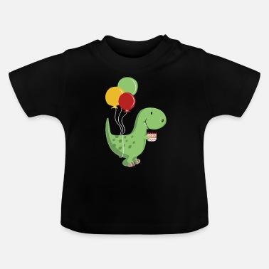 f49cfb5ba Feliz Cumpleaños niño-cumpleaños T Rex - Camiseta bebé