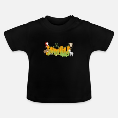 Jungle Grappig jungle dierenmotief - Baby T-shirt