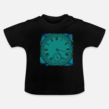 Antique Horloge antique - T-shirt Bébé