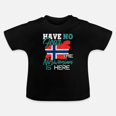 Vapen Norge - Baby-T-shirt