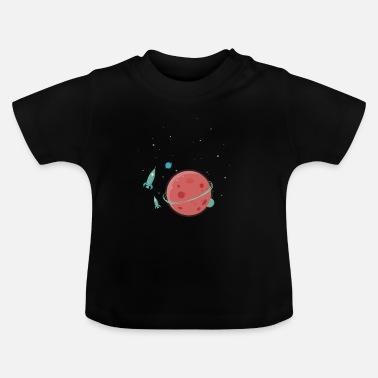 Planet planet - Baby-T-shirt