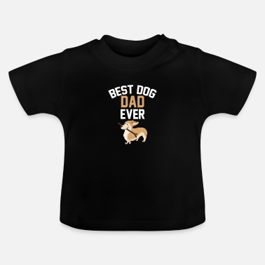 Dog Dad Dad puppy family Dachshund pet - Baby T-Shirt