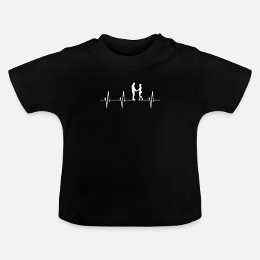 Paars paar - Baby T-shirt