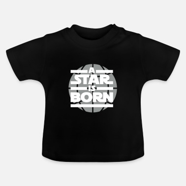 Mor a star is born - Baby-T-shirt