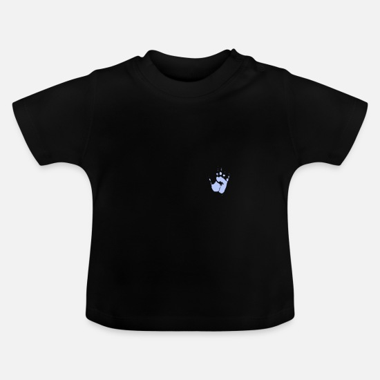 Birthday Baby Clothes - hand - Baby T-Shirt black
