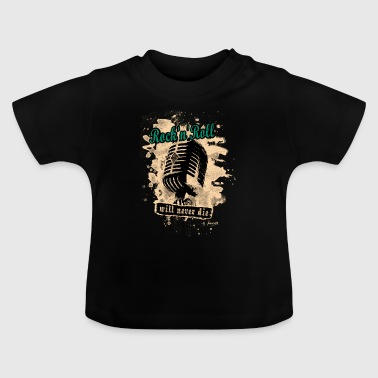 Rock N Roll Rock-n-Roll Microphone - green - Baby T-Shirt