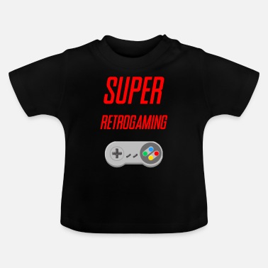 Retrogaming SUPER RETROGAMING - Baby T-shirt