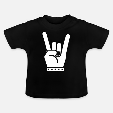 Rock-kleidung Rock - Baby T-Shirt