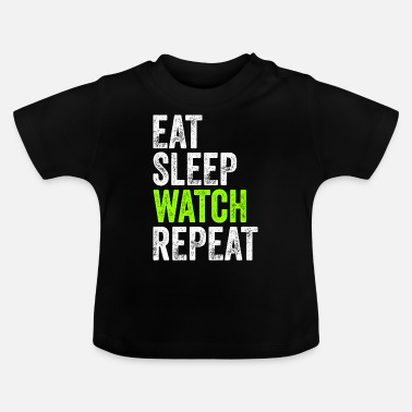 Television Glaring Television Shows Binge Funny Gift - Baby T-shirt