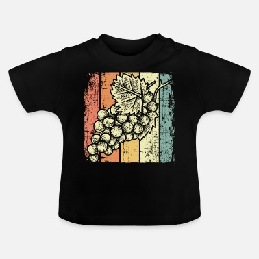 Wine Festival Wine festival wine grapes - Baby T-Shirt