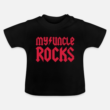 Uncle My uncle rocks - Baby T-shirt