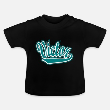 Name Victor - T-shirt personalised with your name - Baby T-Shirt