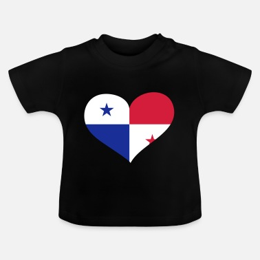 What Panama Herz; Heart Panama - Baby T-Shirt