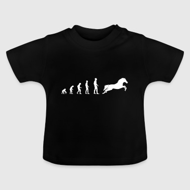 Horse / Riding - Evolution - Baby T-Shirt