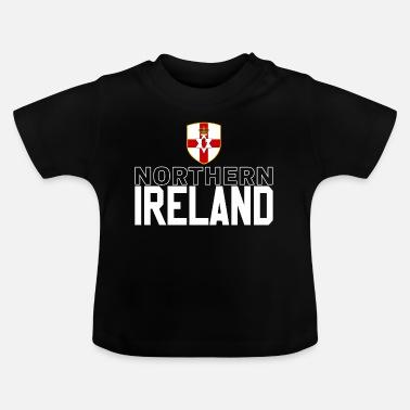 b76432e985c Northern Ireland retro jersey - Baby T-Shirt