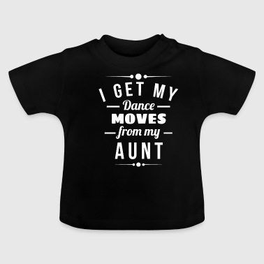 Step Dance Dance steps from my aunt godmother gift - Baby T-Shirt