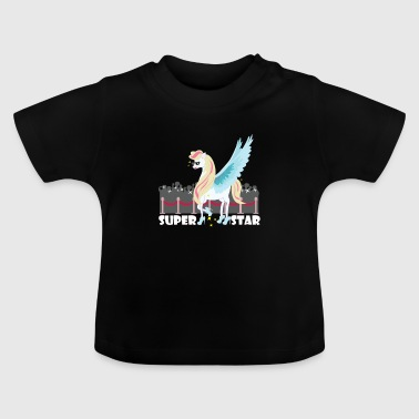 Unicorn Superstar / Unicornio - Camiseta bebé