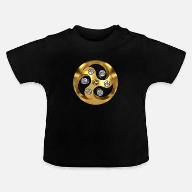 Young Buddha YYY_gold-006 - Baby T-Shirt