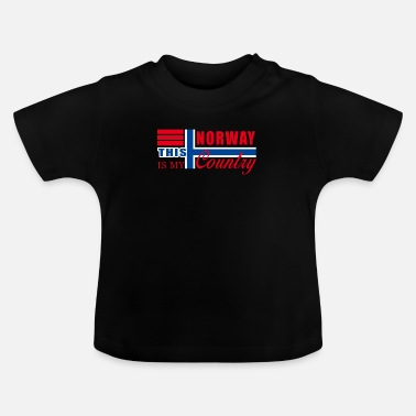 Norge Norge Norge - T-shirt baby