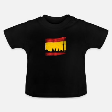 Berlin A t-shirt for Spaniards in Berlin or Berlin i - Baby T-Shirt