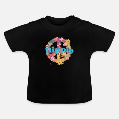 Gåvor till hippier | Hippie Peace Gift Ideas - T-shirt baby