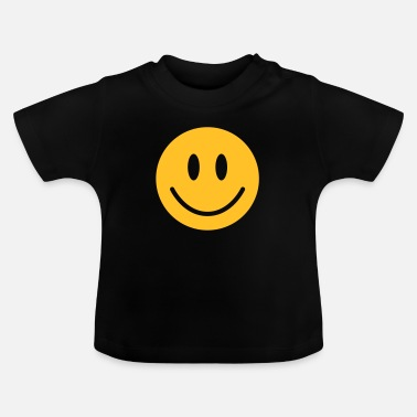 Face happy, yellow face - Baby T-Shirt