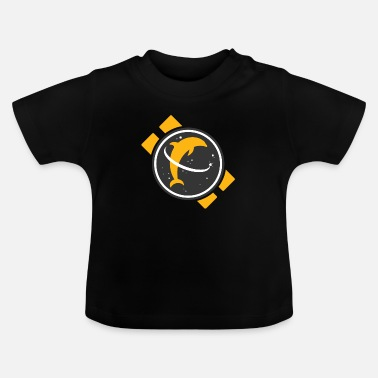Space Dolphin - Baby T-Shirt