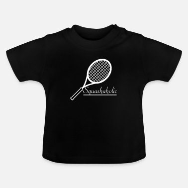 Racket Squash Badmintonshuttle Racketlon - Baby T-shirt