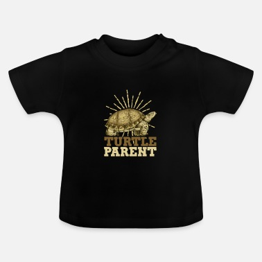 Aquarium turtle - Baby T-Shirt