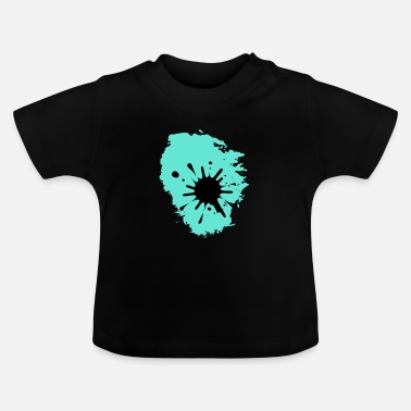 Blood Blob Splash blood blob stains gift idea trace - Baby T-Shirt