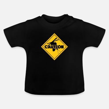 Ski Resort whitewater ski resort caution - Baby T-Shirt