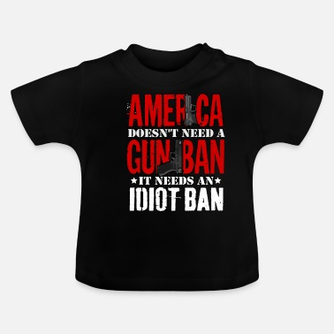 Interdiction Interdiction des armes ou interdiction d'Idoten - T-shirt Bébé