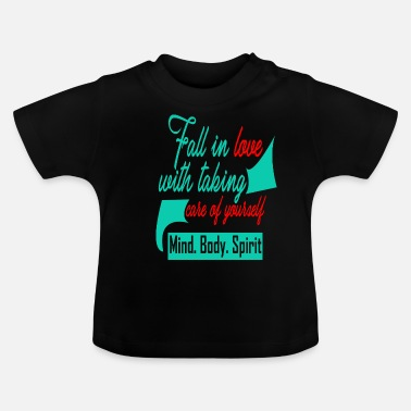 Mind body spirit Aikido karate sports kungfu yoga - Baby T-Shirt