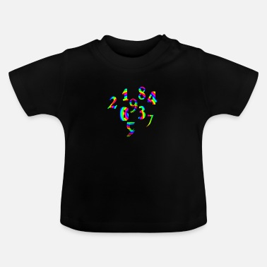 Number Numbers numbers numbers - Baby T-Shirt