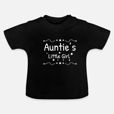 Tante Tantes lille pige tante gudmor gave - Baby T-shirt