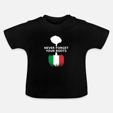 Turin Italy Italy Italia Italian Roots born in made in - Baby T-Shirt