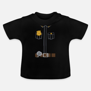Police Tee Black edition - Baby-T-shirt