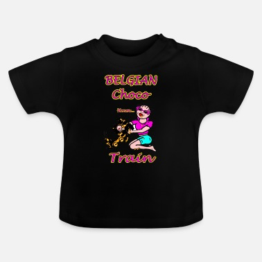 Belgian Belgian Choco Train Twee - Baby T-shirt