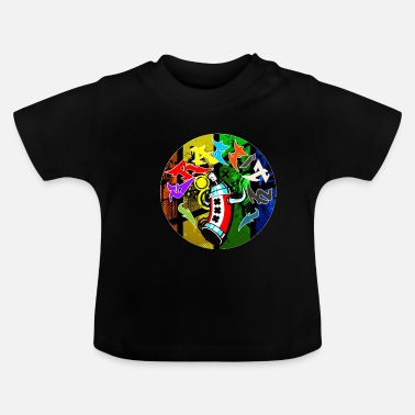 Graffiti Grafitti graffiti - Baby T-shirt