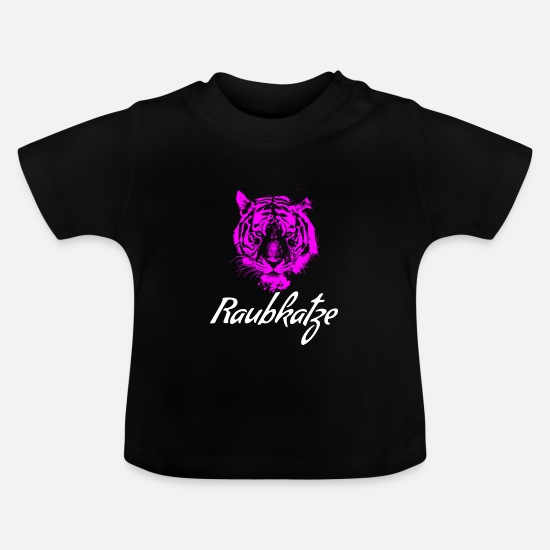 Birthday Baby Clothes - cat - Baby T-Shirt black