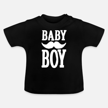 Baby Shower Baby boy hipster - T-shirt Bébé