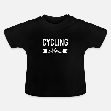 Zoon Cycling Mom Cool Idee Fiets Fiets - Baby T-shirt