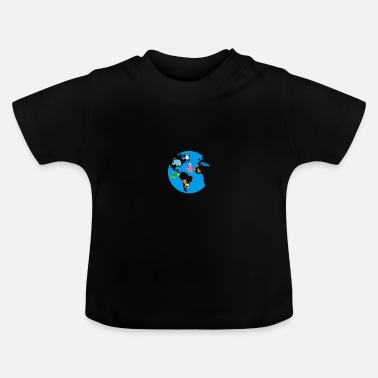 What The earth with wonderful animals - Baby T-Shirt