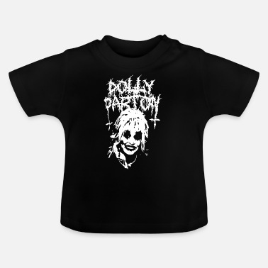 Black Black Metal Graphic - Baby T-Shirt