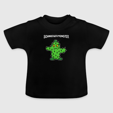 Mother in law mother-in-law cactus - Baby T-Shirt