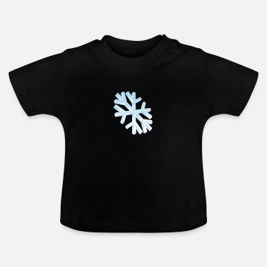 3d Snowflake in 3D - Baby T-Shirt